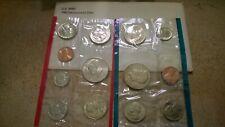 1980-1981 All P,D /& S Mints 8 Sets 1984-1989 Mint Set Run In OGP 86 Coins