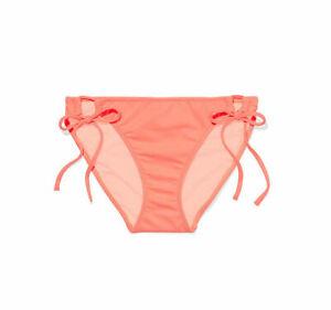 New VICTORIA SECRET SWIMWEAR The  Bow  Bikini Swim  SIDE TIE BOTTOM. XS