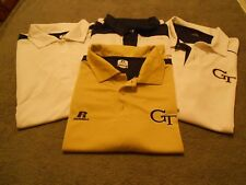 GT RUSSELL BRAND MENS POLO SHIRTS [NEW] SZ: XL 4-PCS