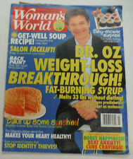 Woman's World Magazine Dr.Oz Weight-Loss Breakthrough February 2014 102914R1