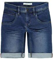 NAME IT Jungen Jeans Shorts Bermuda NKMSofus DNMTax blau Größe 92 bis 164