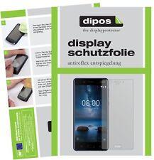 2x Nokia 8 lámina protectora mate protector de pantalla Lámina display protección dipos
