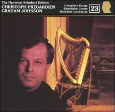 The Hyperion Schubert Edition 23 / Christoph Prégardien, Graham Johnson, , New I