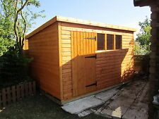 10X8 PENT WOODEN  SHED,13MM T/G ,3X2CLS, FREE DELIVERY WITHIN 100 MILES