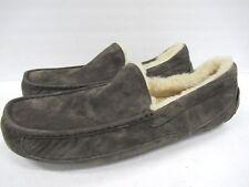 UGG Australia Men's 5775 Ascot Suede Slipper in Gray Size: 18