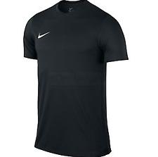 Nike Dri Fit Mens Black Basic Tee Football Training Top Size Xl *ref125