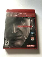 Metal Gear Solid 4 Sony Playstation 3 PS3 (Konami, 2008) NEW Sealed