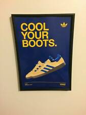 Adidas Cool Your Boots (Ride) A4 260gsm Framed Poster