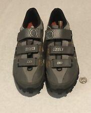 Bontrager Inform Race MTB Mountain Bike Gray Cycling Shoes Men's Size 11