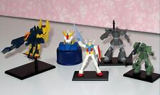 BANDAI japan anime GUNDAM 1/400 scale figure lot of 5 pcs mixed characters 070