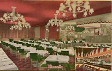 VTG Interior Multi-View Wienecke Restaurant 3rd Ave 86th New York City Postcard