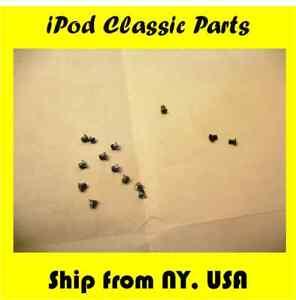 FULL SET OF 14 SCREWS - iPod Video 5th Classic 6th 7th Gen 30gb/80gb/120gb/160gb