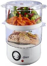 5-Quart Food Steamer, Home Kitchen Appliances Automatic Cookware White NIB