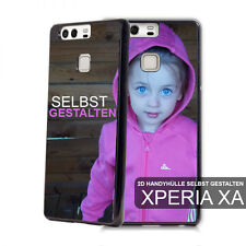 2D Sony Xperia XA individuelle Handyhülle mit Foto bedruckt Case Cover Bumper