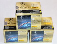 Panini UEFA CHAMPIONS LEAGUE 2010/2011 10/11 – 3 x DISPLAY BOX CAJITA sealed/OVP