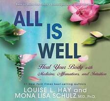 All is Well: Heal Your Body with Medicine Affirmations, and Intuition CD Set NEW
