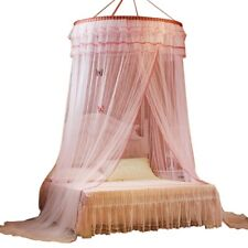 Childrens Bed Canopy Hanging Mosquito Net Breathable Dome Tent Modern Home Decor