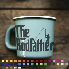 Rod Father Carp Fishing Decal Sticker For Mug Laptop Car Van Hunter Bait Hooks