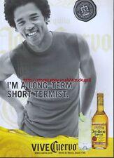 Jose Cuervo Tequila 2001 Magazine Advert #1808