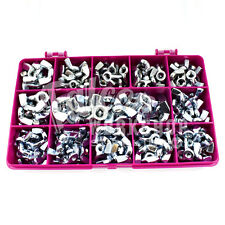 95 ASSORTED PIECE METRIC ZINC WING NUTS M5 M6 M8 M10 M12 WINGNUTS BUTTERFLY KIT