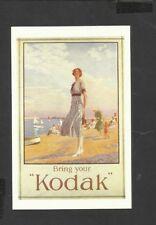 Nostalgia Postcard Advertising Kodak Cameras for all 1925
