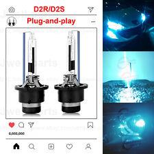 D2R D2S HID Xenon Headlight Bulbs High Low Beam Super Bright 35W 8000K Blue