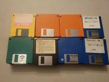 "Lot of 73 Used Random Floppy Disks Diskettes 3.5""  Floppy Discs"
