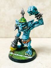 Blood Bowl Troll Star Player RIPPER BOLGROT Warhammer painted Orc Chaos team 3rd