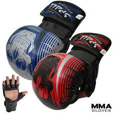 Mma Gloves Boxing Thai Muay Fight Bag Training Wraps Grappling Kickboxing glove