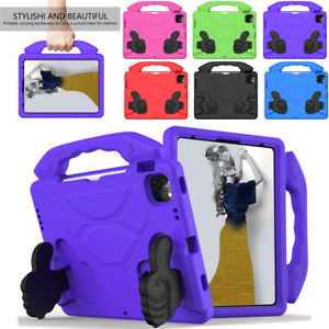 For iPad 9th 8th 7th Gen Air Pro 11 Case Cover Kids Safe Shockproof Lightweight