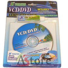 CD Pulisci Lente Pulizia DVD VCD Lens Lettore Cleaner Compact Disc Computer