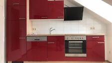 Einbauküche mit E-Herd, Ceranfeld, Kühlschrank / Gefrierkombination,