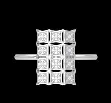 "IGI Certified Natural Diamonds ""12 Diamonds"" 14K White Gold Women's Ring Size 6"