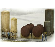 Walthers Cornerstone 933-3197 HO Scale Industrial Tanks Detail Set Kit