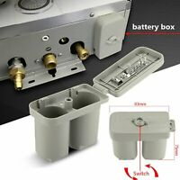 Para Calentador de Agua a Gas Universal 3V Compartimiento Doble Caja de Batería