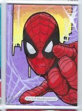 2018 Marvel Masterpieces sketch Randy Martinez