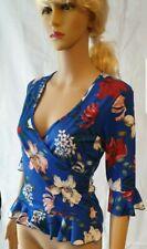 Jane Norman Floral Wrap Ruffle Hem - SIZE 10 - RRP: £25