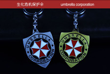 NEW Resident Evil Umbrella Corporation alloy Keyring Chain Pendant Hangings gift