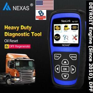 NL102PLUS Heavy Duty HD Truck with DETROIT Engine Scanner Tool DPF Regeneration