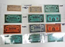 12 Piece Vintage Profit Sharing Coupons Circa 1930s Cigar, Candy