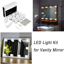 WanEway Hollywood Style LED Vanity Mirror Light Kit for Makeup Cosmetic Dressing