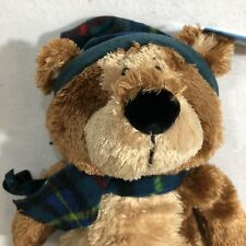 New Gift Gund Teddy Bear Caring Toys Tots Holiday Christmas Winter Plush Scarf