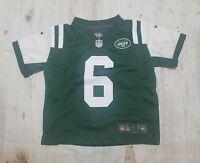 Boys NFL New York Jets Mark Sanchez Youth Performance Jersey T-Shirt Size Sm 4