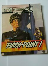 Commando #1747  FLASH-POINT !, 1983 D C Thomson War Stories in pictures