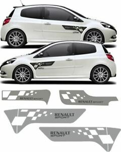 Fits: Clio R27 Renault Sport F1 Decals 200 197 stickers restoration graphics kit