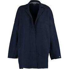 TOMMY HILFIGER Women's HALLEGRA Wool Coat, Dark Blue, M L