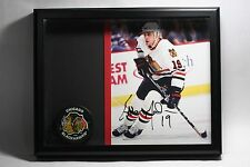 CHICAGO BLACKHAWKS NHL AUTOGRAPHED SIGNED PICTURE PHOTO AND PUCK