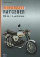 Livre en Allemand : Simson Ratgeber S50, S51, S70 und SR50/SR80 - Erhard Werner