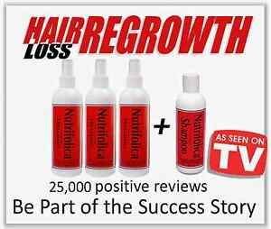 NUTRIFOLICA TREATMENT - GROW YOUR HAIR FASTER STOP DHT THINNING LOSS REGROWTH