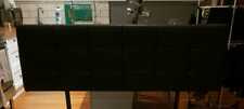 Black King Bed Head Great Condition